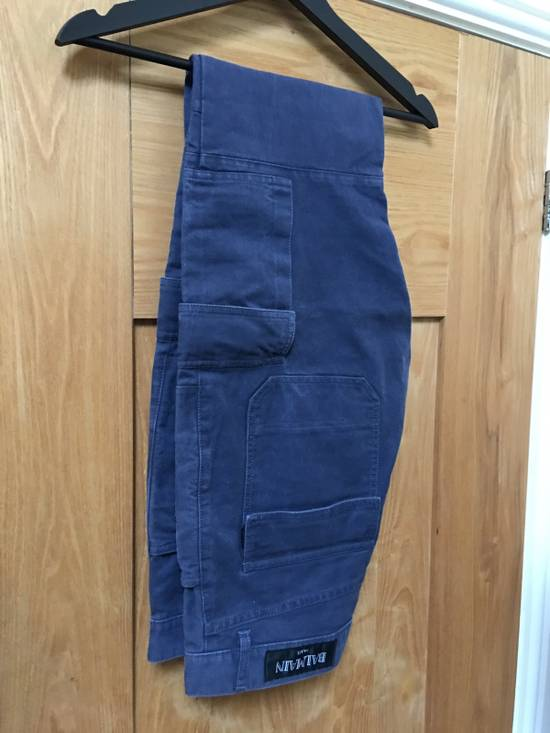 Balmain Balmain Petrol Blue Combat Pants Size US 34 / EU 50 - 2