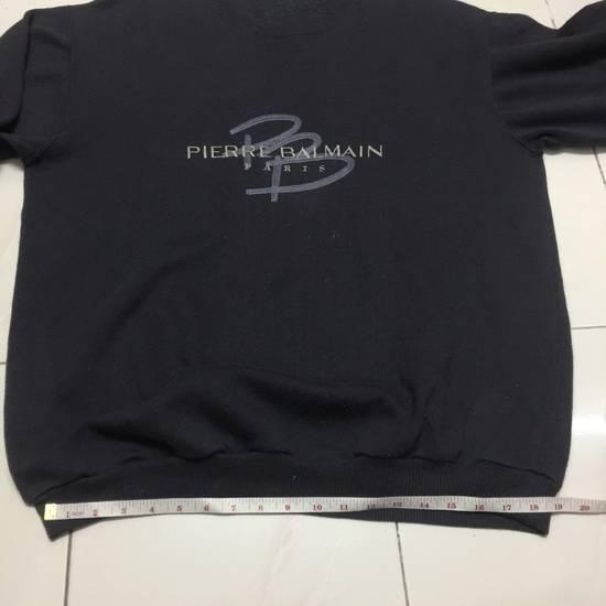 Balmain ⚡️Final Drop⚡️Pierre Balmain Embroidered Spellout Sweatshirt Size US L / EU 52-54 / 3 - 8