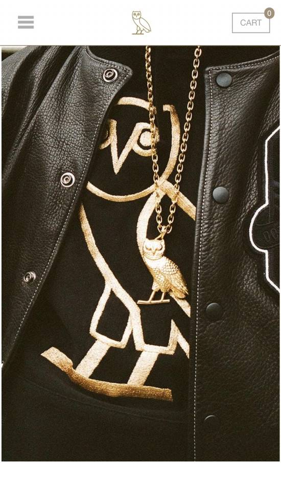 Octobers Very Own Drake Crew Only Exclusive OVO Gold Diamond Owl Pendant Necklace Chain October's Very Own Limited Edition Revenge More Life Friends and Family Size ONE SIZE - 1