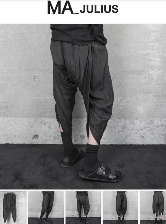 Julius Ma_julius SS14 Back Shirring Pants Size US 26 / EU 42 - 6