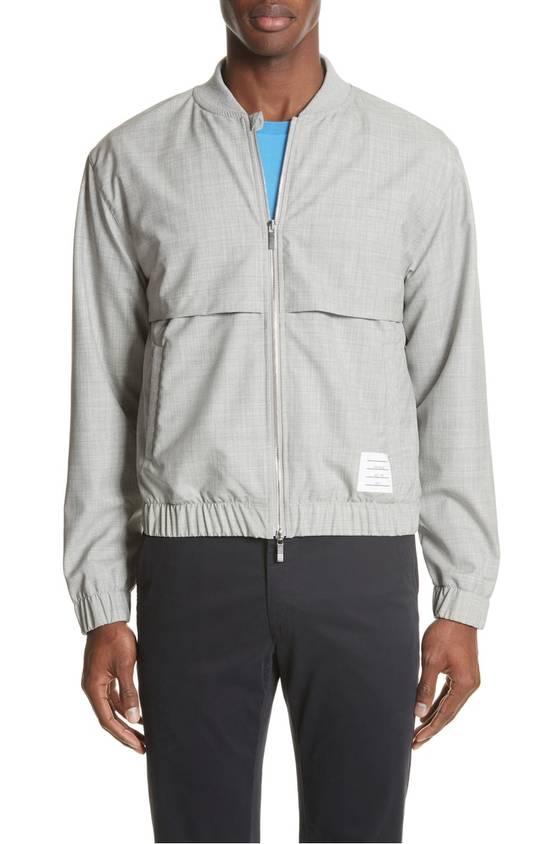 Thom Browne Lightweight Wool Bomber Jacket NEW Size US XL / EU 56 / 4 - 1