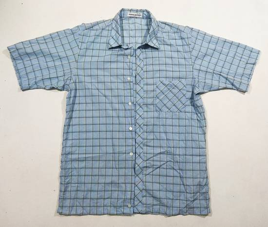 Balmain Luxury Brand BALMAIN Checker Button Down Shirt Size US L / EU 52-54 / 3