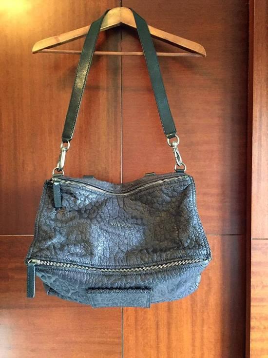 Givenchy 2011S/S Limited Edition Black Leopard Pandora Medium Shoulder Bag Size ONE SIZE - 1