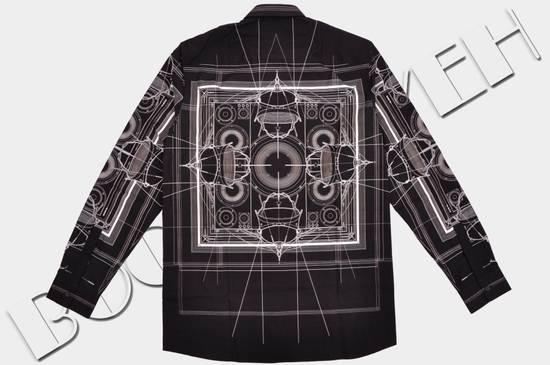 Givenchy 1050$ Black Cotton Geometric Cobra Print Shirt sz 38 Size US S / EU 44-46 / 1 - 1