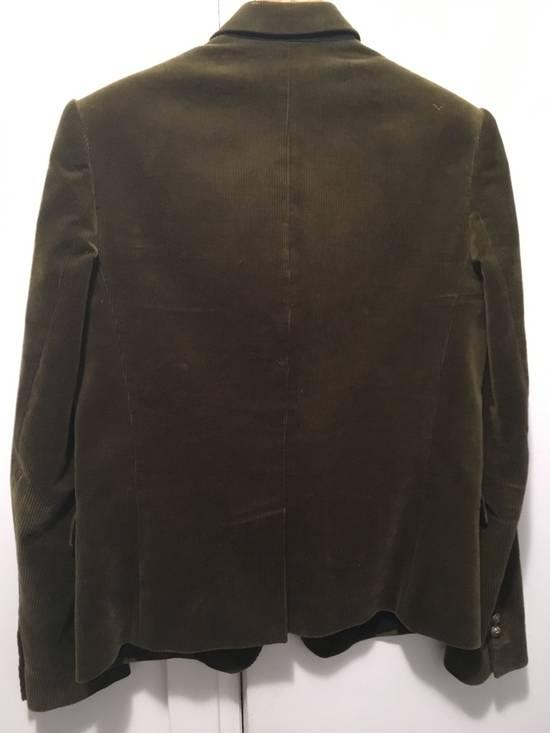 Balmain FW11 Distressed Corduroy Blazer Size 36R - 6