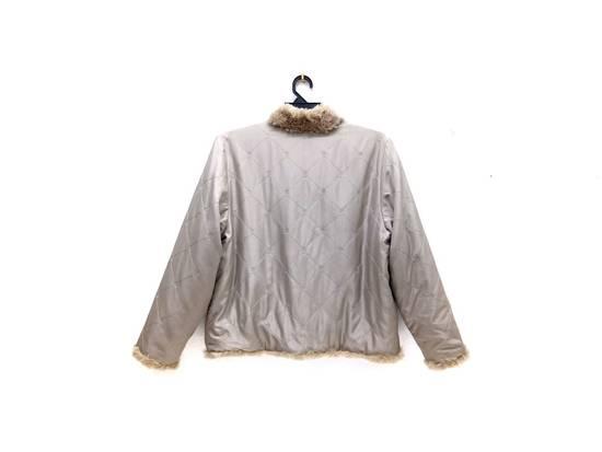 Balmain 🔥FINALDROP♨Reversible Balmain Paris Fur and Silk Jacket RARE Design Size US L / EU 52-54 / 3 - 4