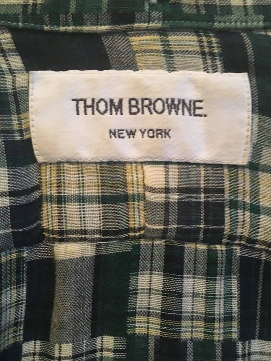 Thom Browne Plaid Madras Shirt Size 2 Size US M / EU 48-50 / 2 - 4