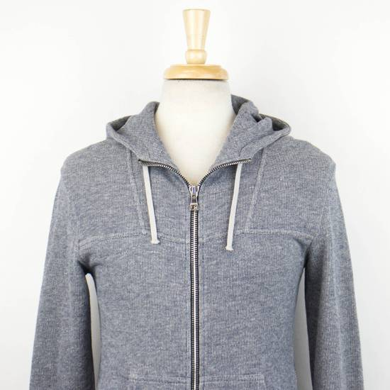Balmain Men's Gray Cotton Blend Zip-Up Hooded Sweater Size XS Size US XS / EU 42 / 0 - 4
