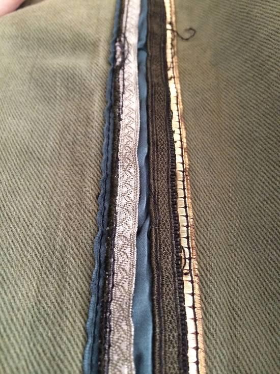 Balmain Khaki Jeans With Trim Piping Size US 32 / EU 48 - 4
