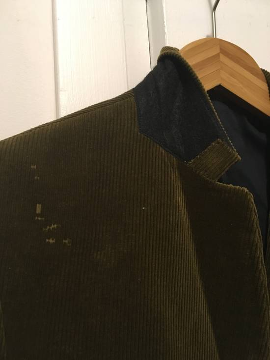 Balmain FW11 Distressed Corduroy Blazer Size 36R - 3