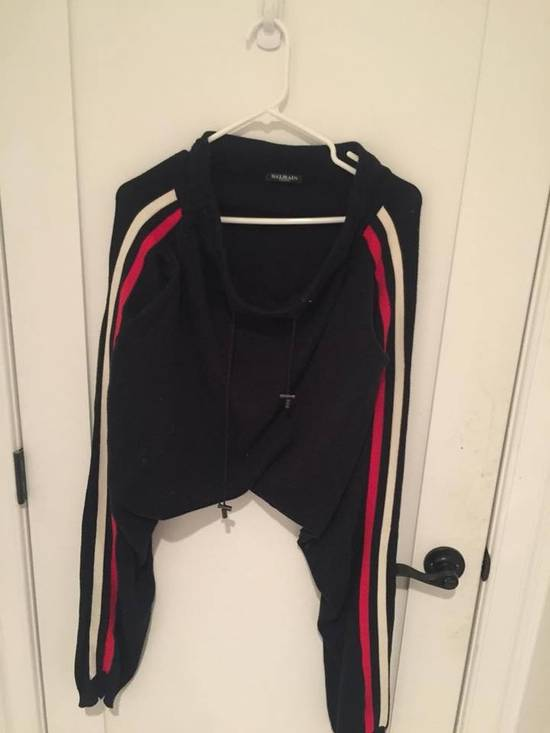Balmain Balmain Navy Knit Harem Lounge Pants Size US 30 / EU 46 - 1