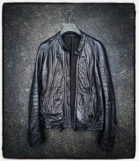 Julius Moto Leather Biker Jacket Size US S / EU 44-46 / 1