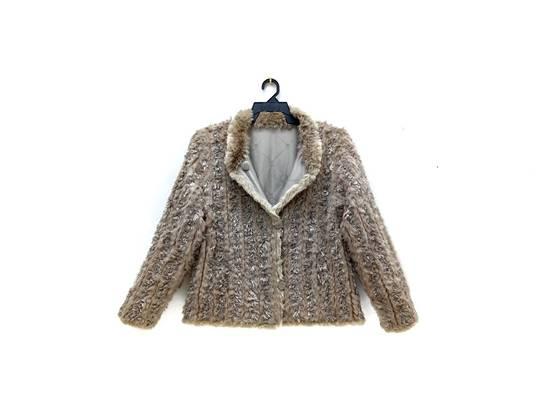 Balmain 🔥FINALDROP♨Reversible Balmain Paris Fur and Silk Jacket RARE Design Size US L / EU 52-54 / 3 - 2
