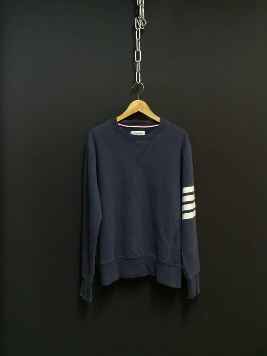 Thom Browne USA classic stripes navy sweatshirt Size US M / EU 48-50 / 2
