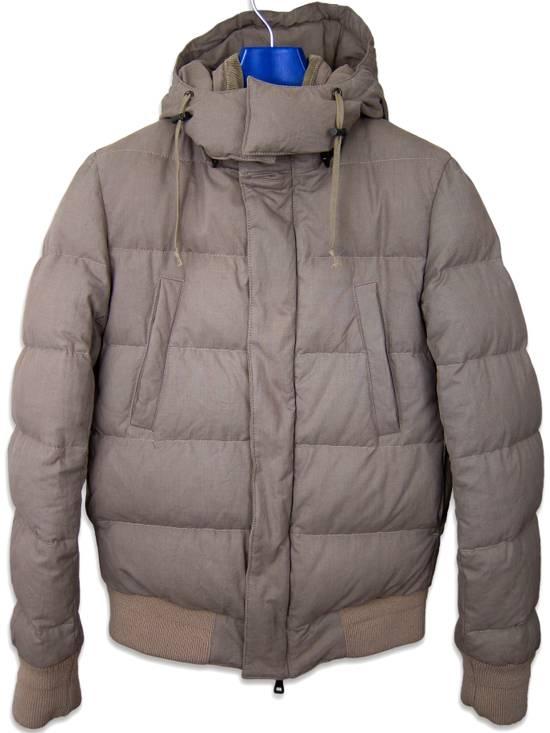 Balmain AW11 Khaki Military Down Jacket sz. 44 Size US XS / EU 42 / 0 - 6