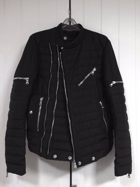 Balmain Quilted Puffer Moto Jacket Size US S / EU 44-46 / 1 - 1