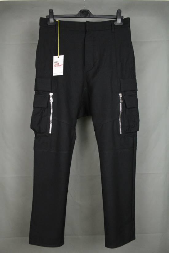 Balmain Balmain X H&M Cargo Biker Wool Pants Size EUR30 Size US 30 / EU 46
