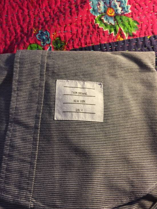 Thom Browne Thom Browne Grey Stripe Shirt Size US XL / EU 56 / 4 - 2