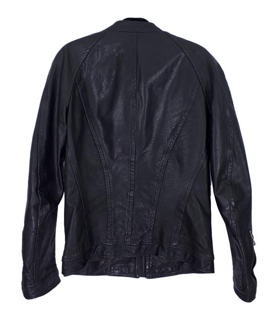 Julius Black Buffalo Leather Jacket SS08 Size US M / EU 48-50 / 2 - 1