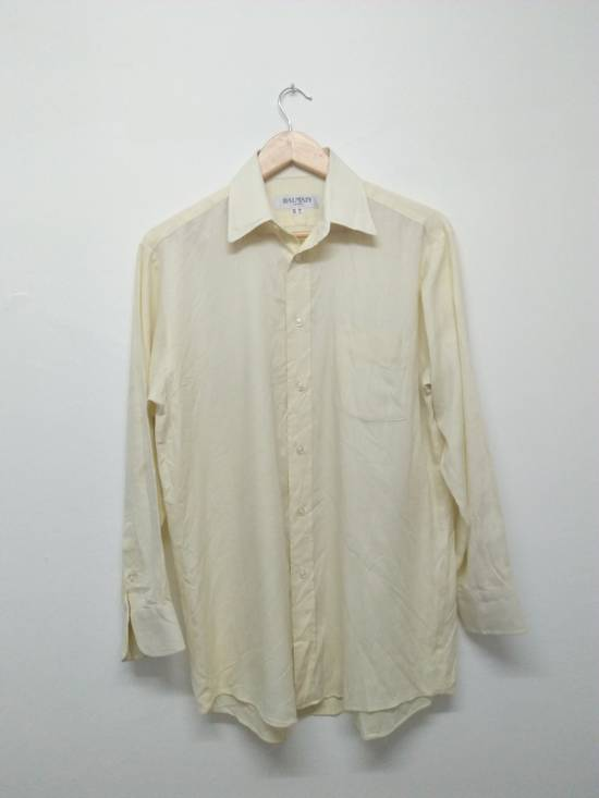 Balmain Yellow button up Size US S / EU 44-46 / 1