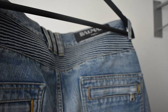Balmain Balmain Biker Denim Jeans Size 33 Size US 33 - 3