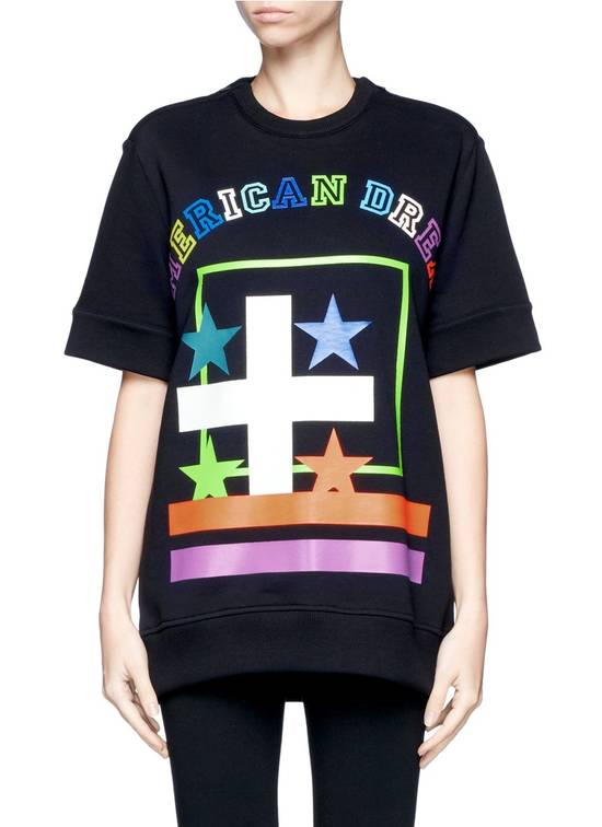 Givenchy $800 Givenchy American Dream Rottweiler Cropped Sleeve Pullover Sweater size S Size US S / EU 44-46 / 1 - 1