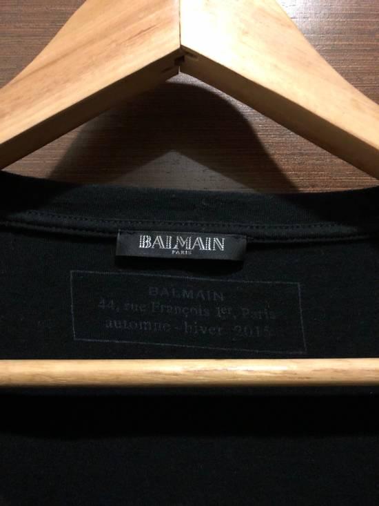 Balmain Gold Logo T Shirt Size US M / EU 48-50 / 2 - 2