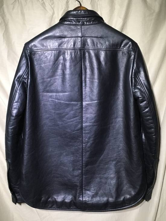 Givenchy FW09 LEATHER HOODED PADDED JACKET Size US S / EU 44-46 / 1 - 6