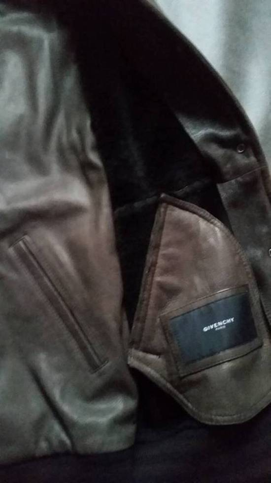 Givenchy NEW! AW11 double layer mouton shearling bomber Size US M / EU 48-50 / 2 - 3