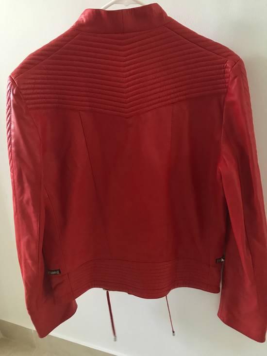 Balmain Nappa Leather Biker Jacket Size US M / EU 48-50 / 2 - 7