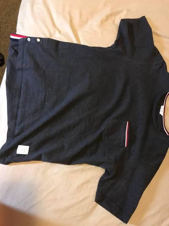 Thom Browne Thin Browne Authentic T Shirt Size US L / EU 52-54 / 3 - 3