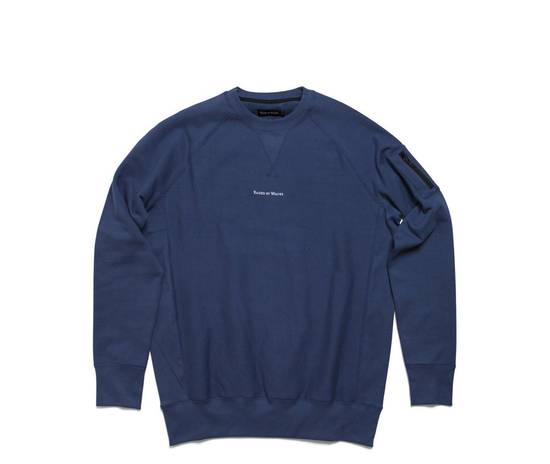 Raised By Wolves Micrologo Pocket Crewneck in Indigo/Navy Size US M / EU 48-50 / 2