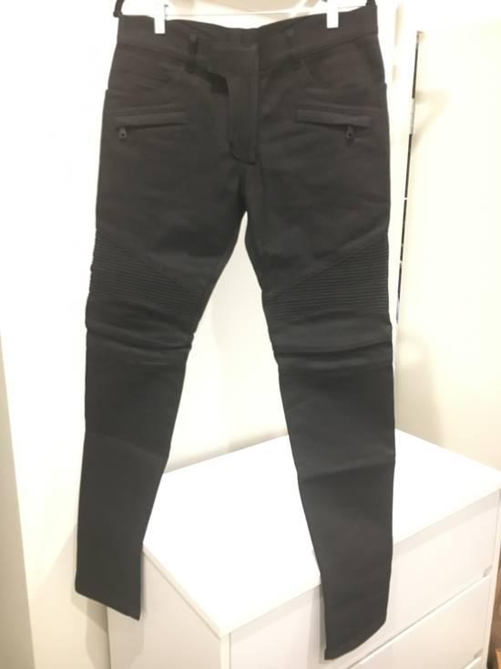 Balmain Black Biker Jeans NWT Size US 32 / EU 48 - 1