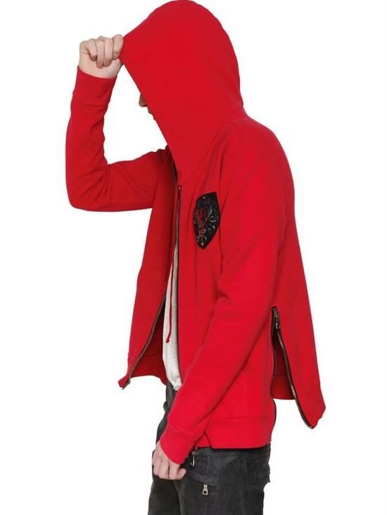 Balmain 12FW Red Hoodie Size US M / EU 48-50 / 2 - 6