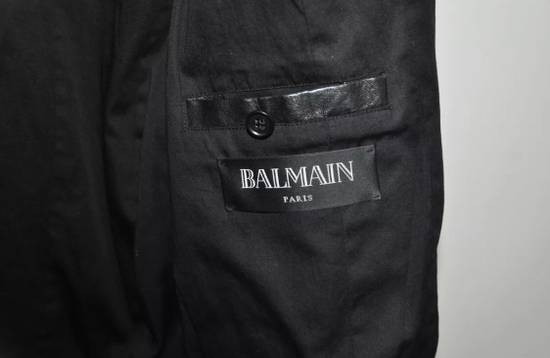 Balmain Quilted Biker Leather Jacket Size US S / EU 44-46 / 1 - 4