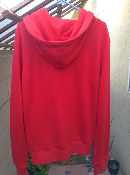 Balmain Dragon Crest Side Zip hoodie Red Size US M / EU 48-50 / 2 - 1