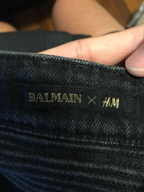 Balmain Biker Denim Size US 33 - 2