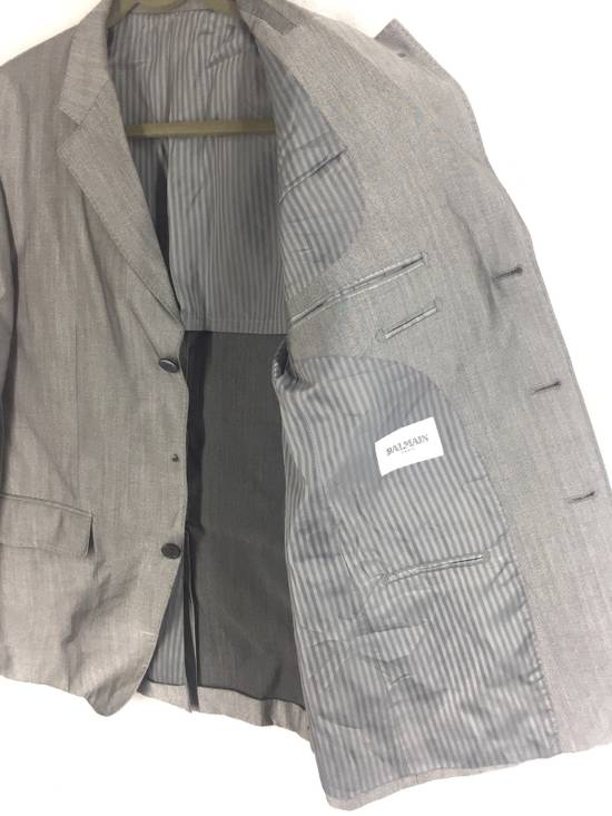Balmain Grey Balmain Paris Coat Size 40L