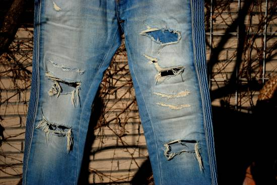 Balmain Destroyed Jeans Size US 33 - 4
