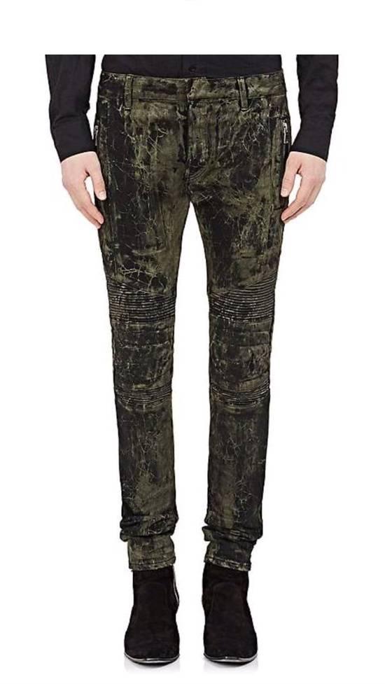 Balmain Balmain Marble Print Skinny Moro Jeans Size US 32 / EU 48 - 1