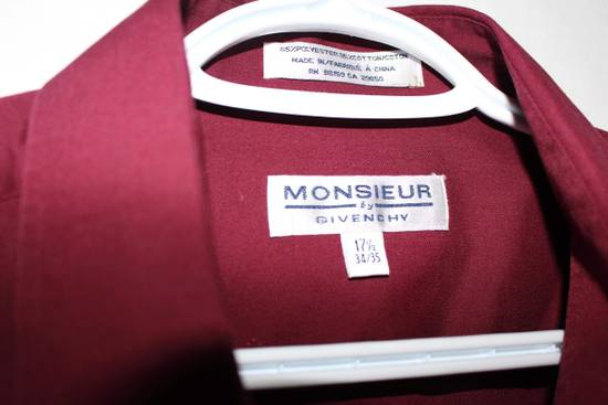 Givenchy Monsieur by Givenchy Burgundy button up shirt. Size US XL / EU 56 / 4 - 2