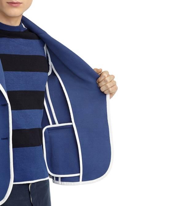 Thom Browne Bright Blue Knit Blazer Size 44R - 2