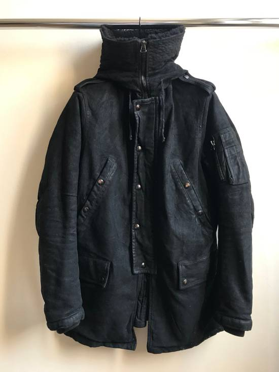 Balmain Decarnin Black Coated Parka Size US M / EU 48-50 / 2