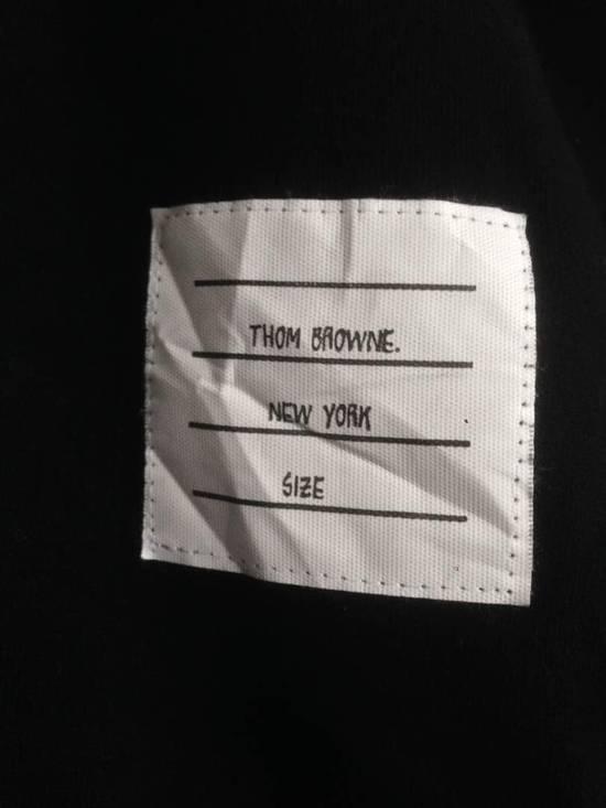 Thom Browne Nice Item !! Black Thom Browne With Stripe Sweatshirt Size US M / EU 48-50 / 2 - 10
