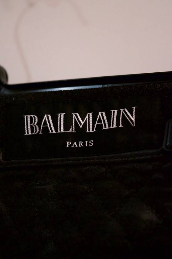 Balmain Rare Moleskin Ribbed Biker Trousers Size US 34 / EU 50 - 3
