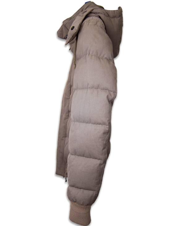 Balmain AW11 Khaki Military Down Jacket sz. 44 Size US XS / EU 42 / 0 - 5