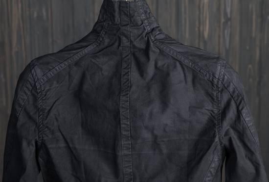 Julius high neck asymmetric zip waxed denim jacket Size US S / EU 44-46 / 1 - 6