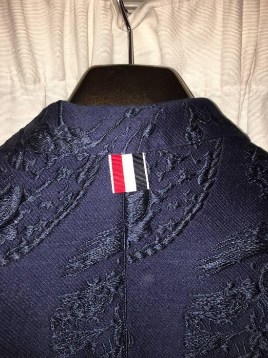 Thom Browne Ss14 Anchor Jacquard Blazer Size US XS / EU 42 / 0 - 3