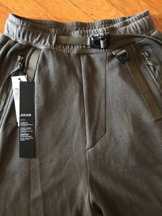 Julius BRAND NEW APCLPS MILITARY GREEN SHORTS Size US 29 - 1