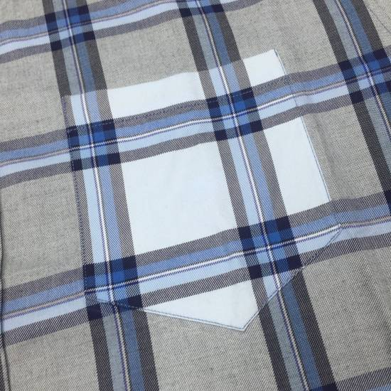 Givenchy Blue Cuban Fit Flannel Shirt NWT Size US M / EU 48-50 / 2 - 6